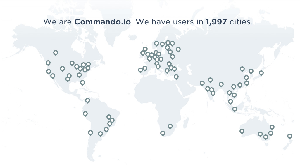 We Are Commando.io